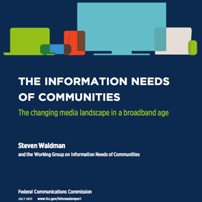 FCC Information Needs of Communities Report
