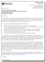 Schultze Hogan Letter