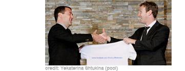 Zuckerberg Meets Medvedev